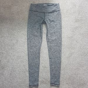 Infinite Leggings Heather Gray Workout Yoga Small